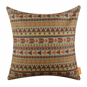 Geometric Pattern Decorative Cushion Cover