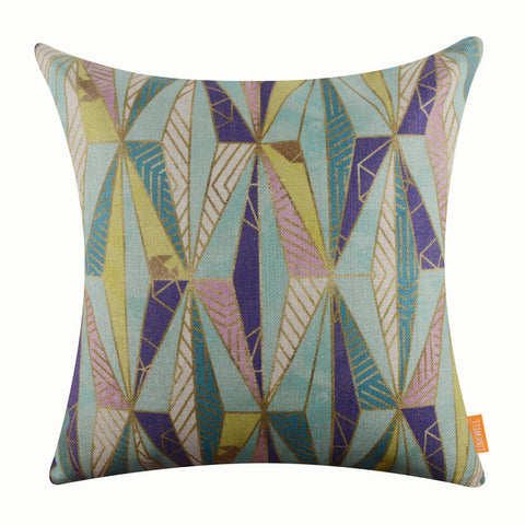 Geometry Inspired Bold Pillow Cover
