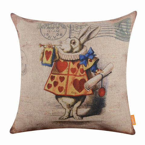 Happy Easter Bunny Cushion Cover for Sofa