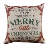 Have Yourself a Merry Little Christmas Pillow Cover