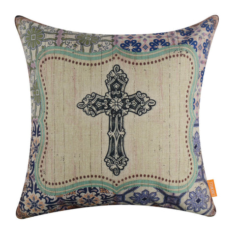 Image of Holy cross cushion cover