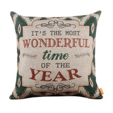 It's the Most Wonderful Time of the Year Pillow Cover