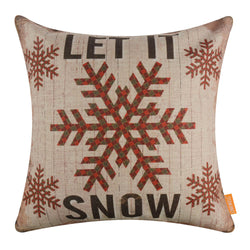 Let it Snow Cushion Cover