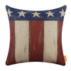 Linkwell American Flag Pillow Cover 18x18 inch