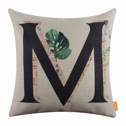 Image of Linkwell Coupon Leaf Pillow Cover