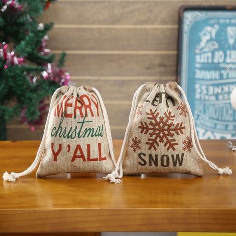 Image of Linkwell Let is Snow and Merry Christmas Y'all Gift Package 2pcs/lot