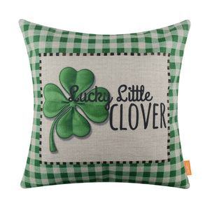 Little Clover Festive Pillow Cover for Saint Patrick