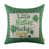 Little Mister Lucky Charm St. Patrick Pillow Cover