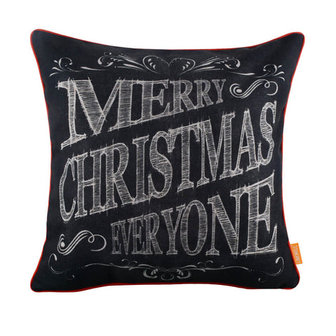 Merry Christmas Everyone Pillow Cover