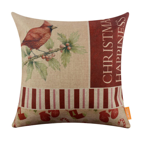 Image of Merry Christmas Large Sofa Pillow Cover