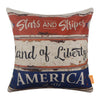 Metal-Board-Americana-Decor-Pillow-Cover