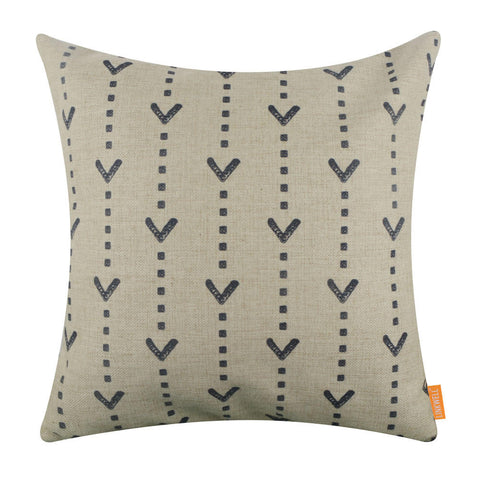 Image of Mud Cloth Printed Pillow Cover