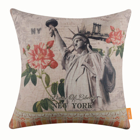 The Statue of Liberty New York  Pillow Cover