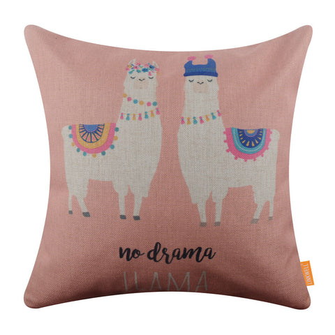 Image of No Drama Llama Pillow Cover