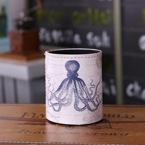 Image of Octopus and Crab Sea Theme Pencil Case