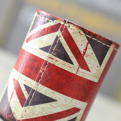 Image of Vintage Union Jack Pencil Organizer