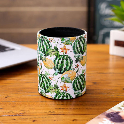 Garden Watermelon and Cantaloup Pen Holder