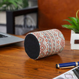 Geometric Pattern Aztec Pencil Cup