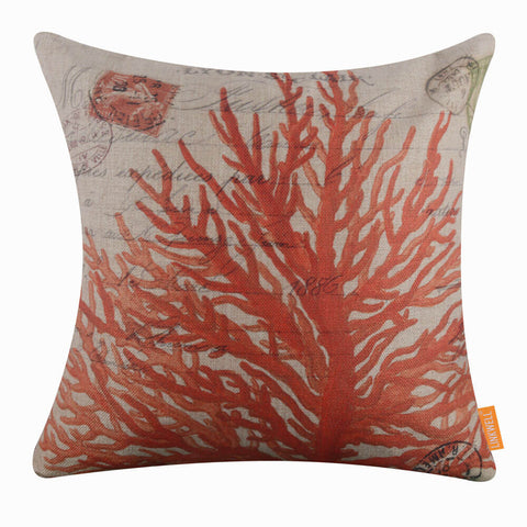 Red Coral Pillow Cover