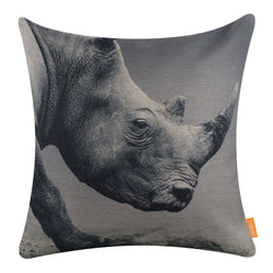Rhinoceros Pillow Cover