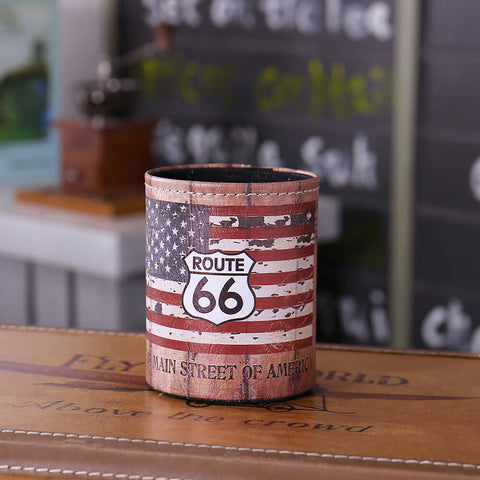 Route 66 USA Mother Road Desk Organizer