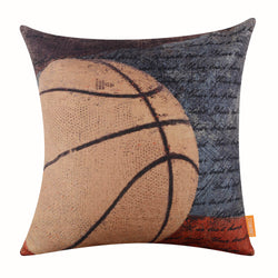 Sports Big Basketball Pillow Cover