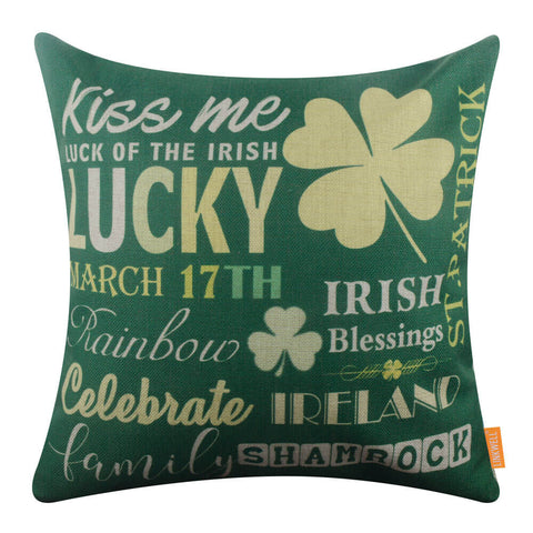 Image of St. Patrick's Day Pillow Covers