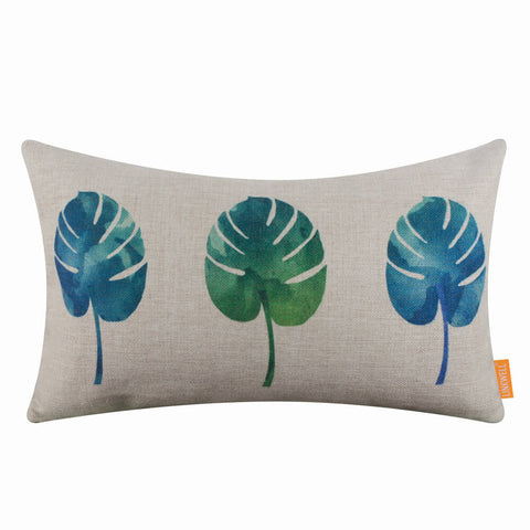 Summer Plant Pillow Cover