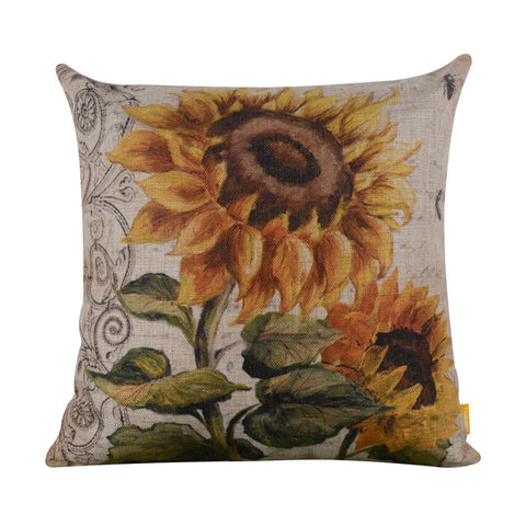 Image of Sunflower Cushion Cover