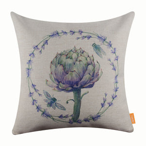 Sweet Lavender Pillow Cover