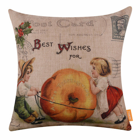 Image of Thanksgiving Cushion Cover
