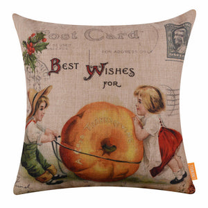 Thanksgiving Cushion Cover