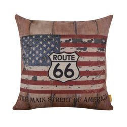 The Main Street of America Pillow Cover