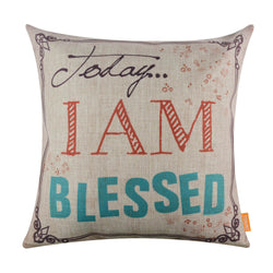 Today I am Blessed Religious Pillow Cover