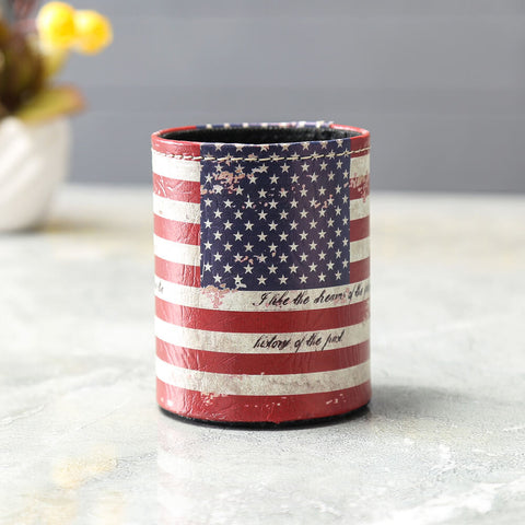 Image of USA National Flag Pen and Pencil Case