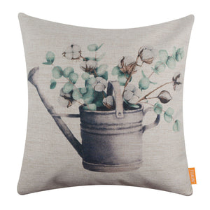 Vintage Cotton Ball Cushion Cover