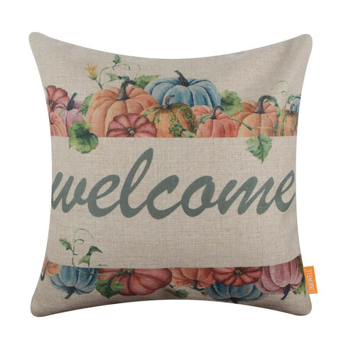 Image of Welcome Fall Pillow Cover