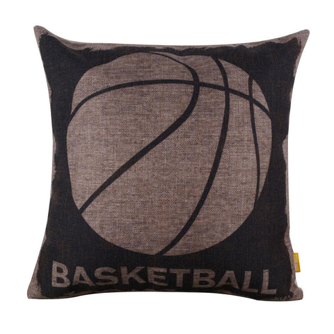 Image of Where to buy Throw Pillow Cover Basketball Design