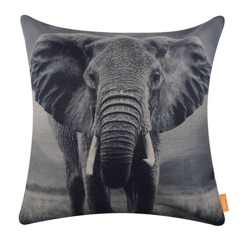 Image of Wild Animal Elephant Pillow Cover