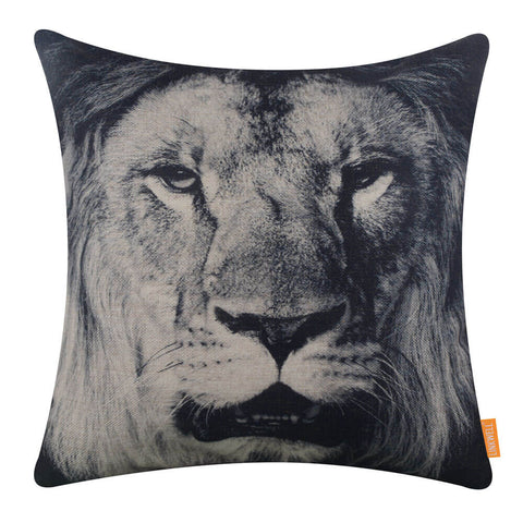Image of Wild Animal Lion Pillow Cover
