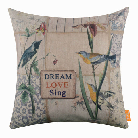Wildlife Bird Pillow Cover