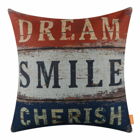 Image of Colorful Motivational Pillow Cover