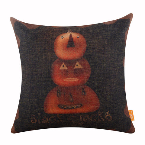 Image of linkwell pumpkin pillow cover