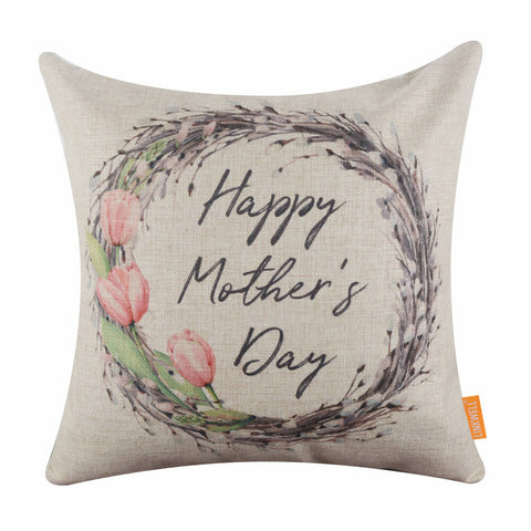 Mothers Day Decorative Pillow Cover
