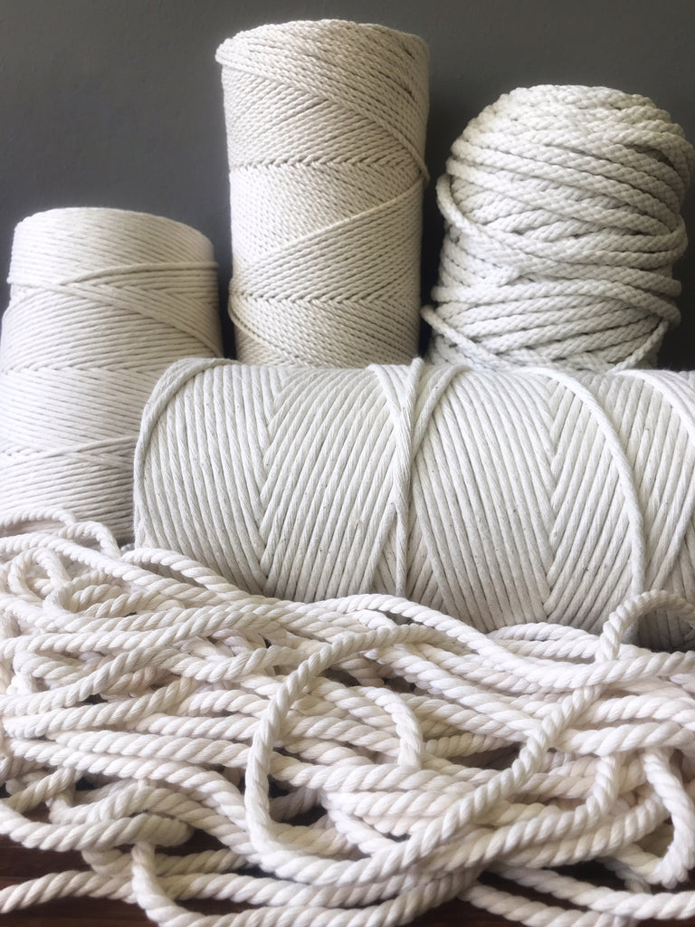What is the difference between macrame cord, macrame rope, and macrame string?