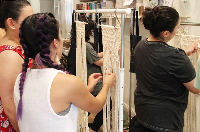 Find a Macrame Workshop or Macrame Class Near You