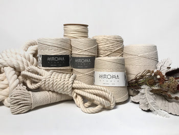Natural Cotton Macrame Rope