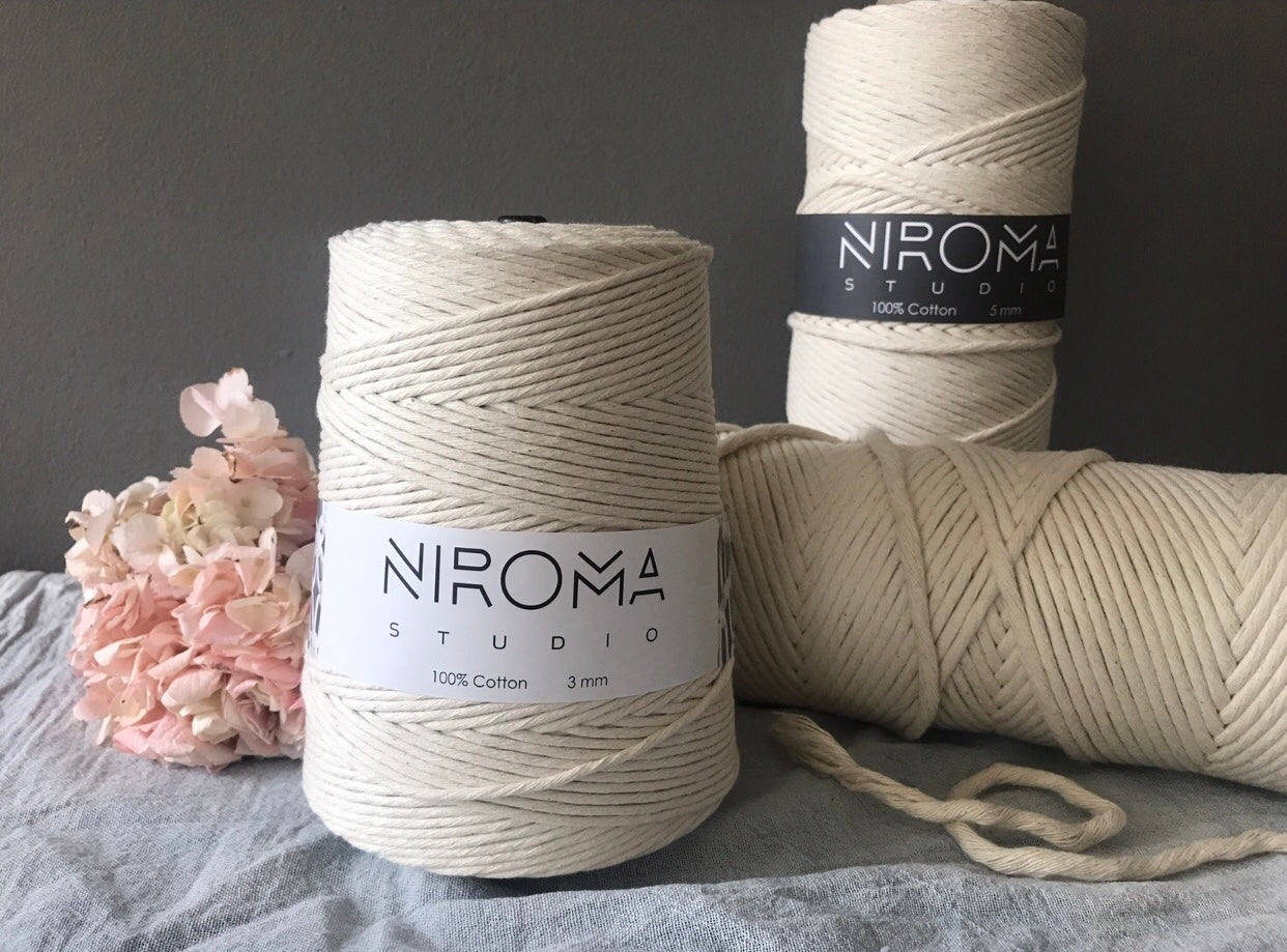 Niroma Studio, shop for macrame and fiber art supplies