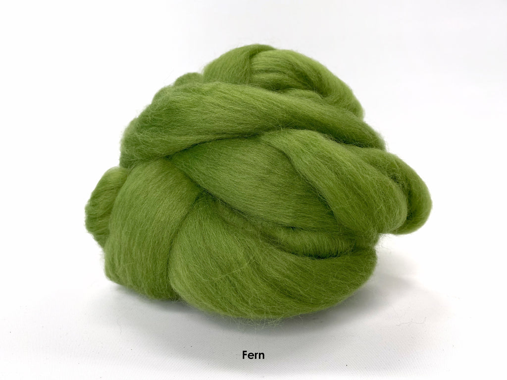 Merino Wool Roving (+39 colors)