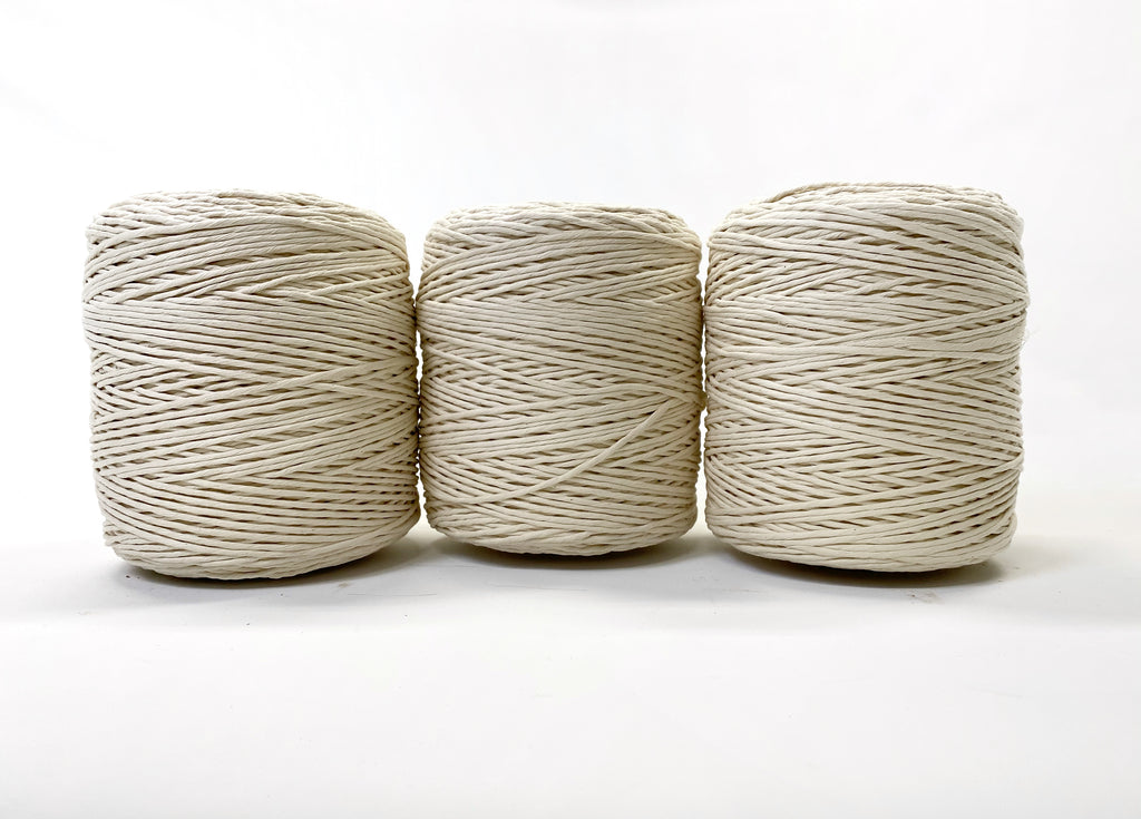 3 mm Supersoft natural string (3 rolls)
